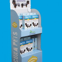 CURA PETS: new display